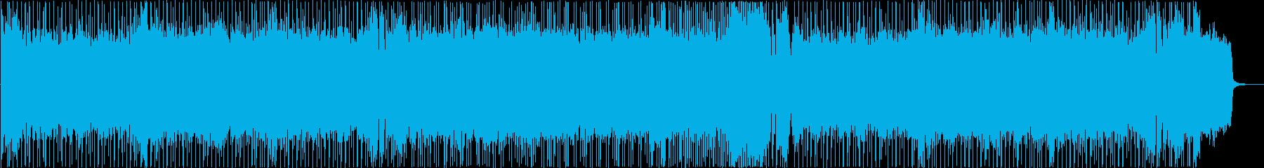 RPGの強敵とバトルする時に流れるBGMの再生済みの波形