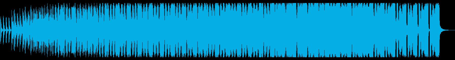 電気楽器。風変わりな、混、とした、...の再生済みの波形
