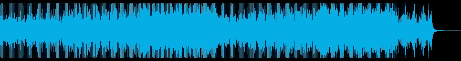 爽やかで明るく陽気なコンセプト系ポップの再生済みの波形