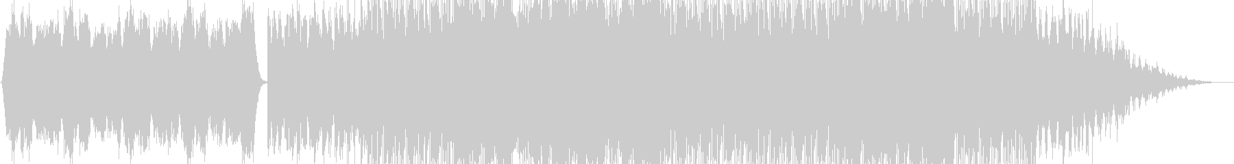 樹海をイメージしたストリングスBGMの未再生の波形