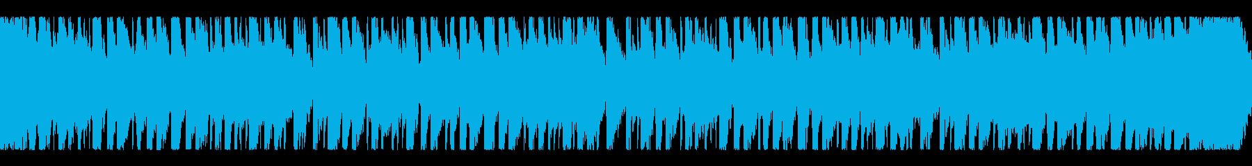 南国のリゾートビーチが似合うループ曲の再生済みの波形