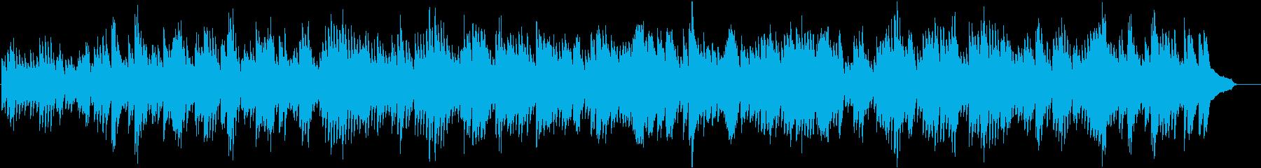 バッハ_インヴェンション第2番_ピアノの再生済みの波形