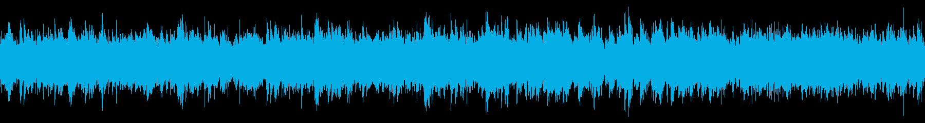 バカンス気分なループ用BGMの再生済みの波形