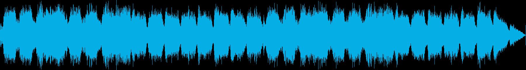 厳かな雰囲気のファンタジーコーラスBGMの再生済みの波形