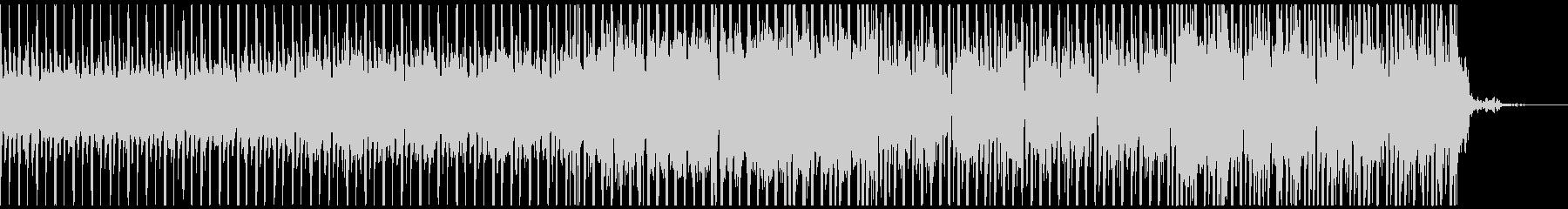 オシャレ系CM、スタイリッシュBGMの未再生の波形