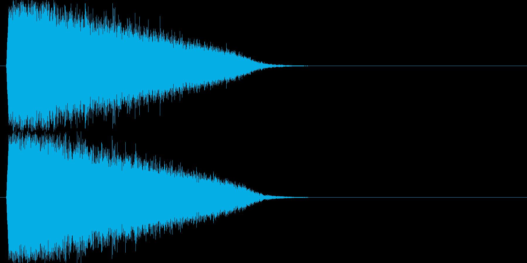 「ギューン!」輝く・レーザー発射3の再生済みの波形