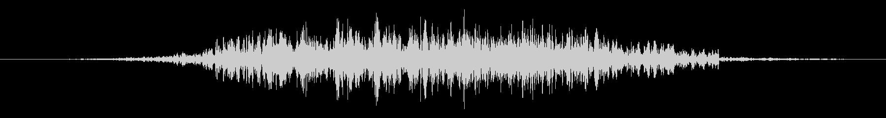 高速フラッターフーシュ1の未再生の波形