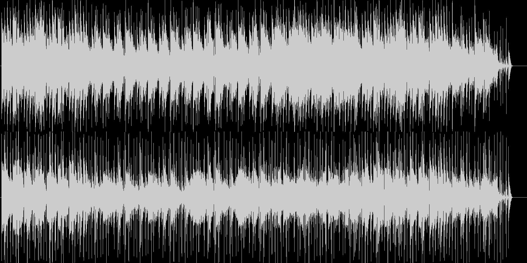 いきいきとしたスローなポップの未再生の波形