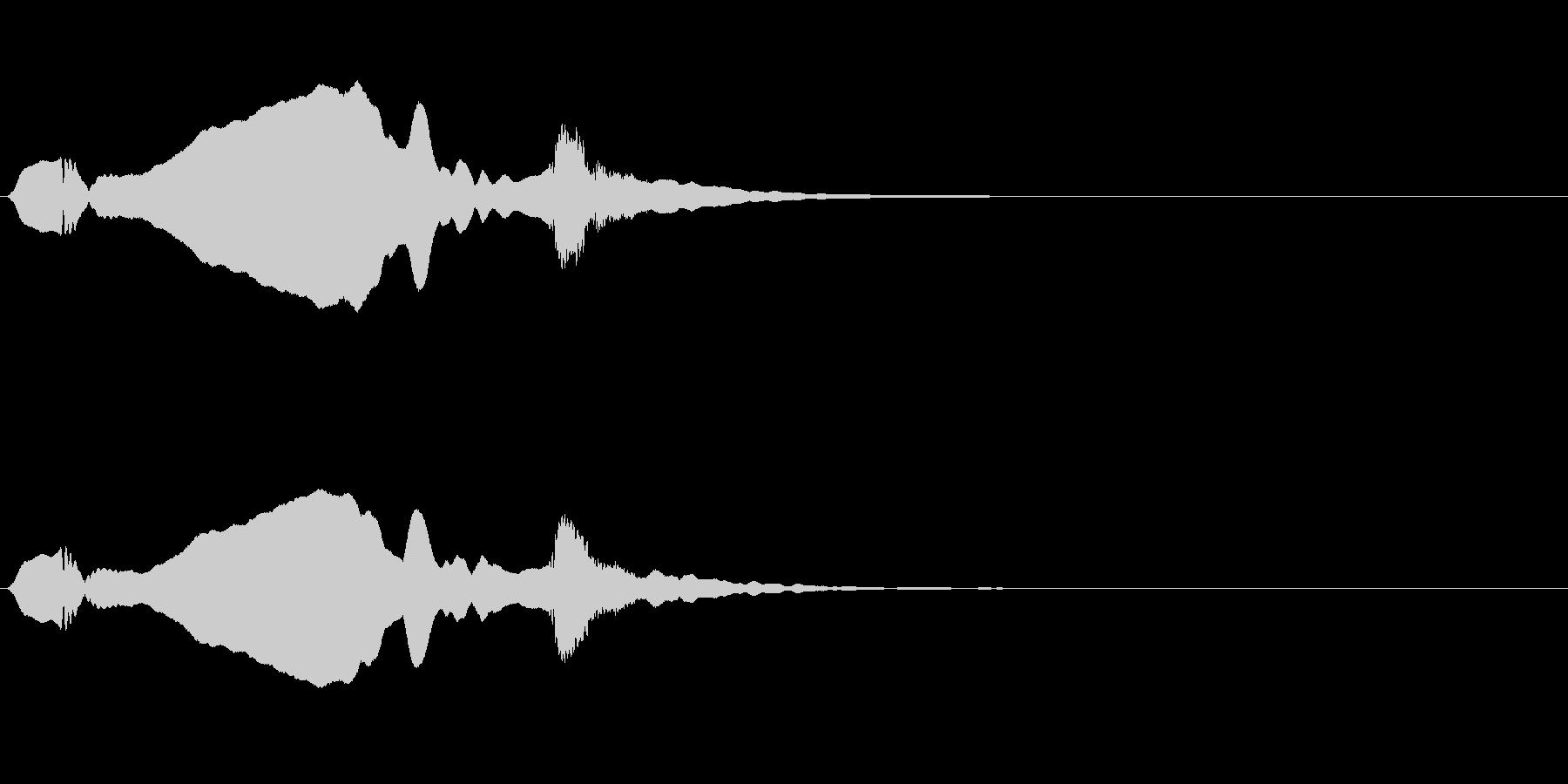 尺八 生演奏 古典風#4の未再生の波形