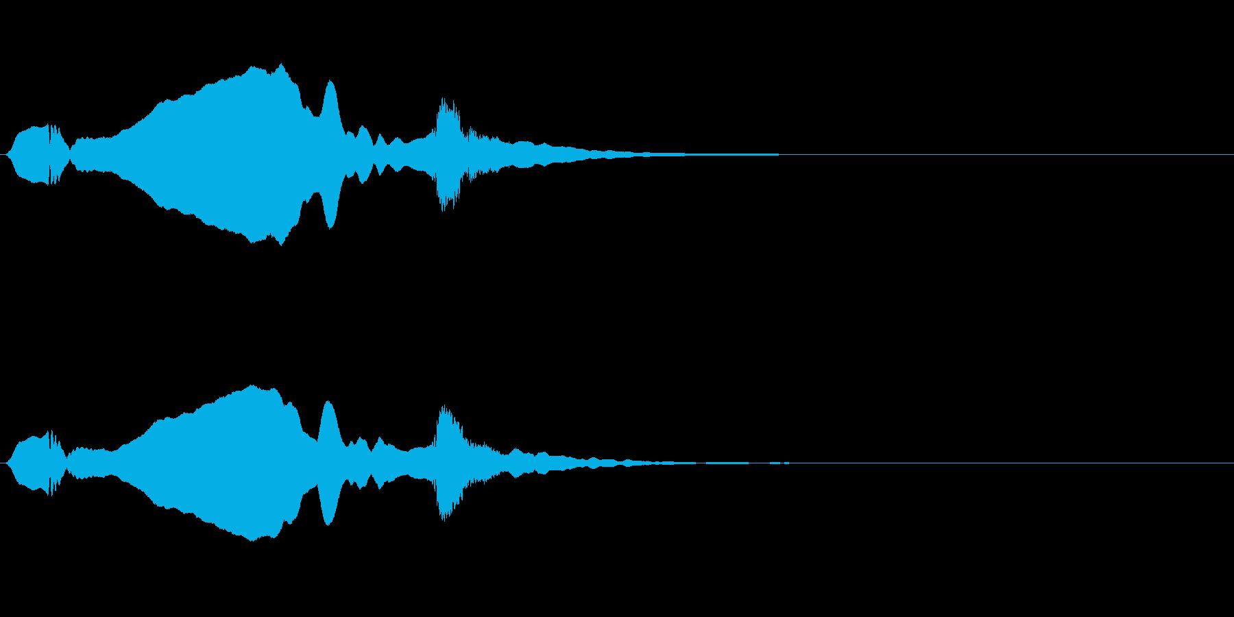 尺八 生演奏 古典風#4の再生済みの波形