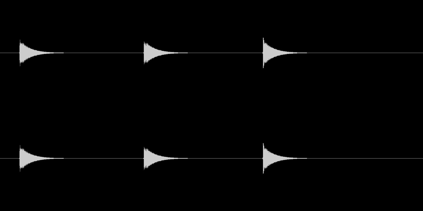 【ショートブリッジ13-5】の未再生の波形
