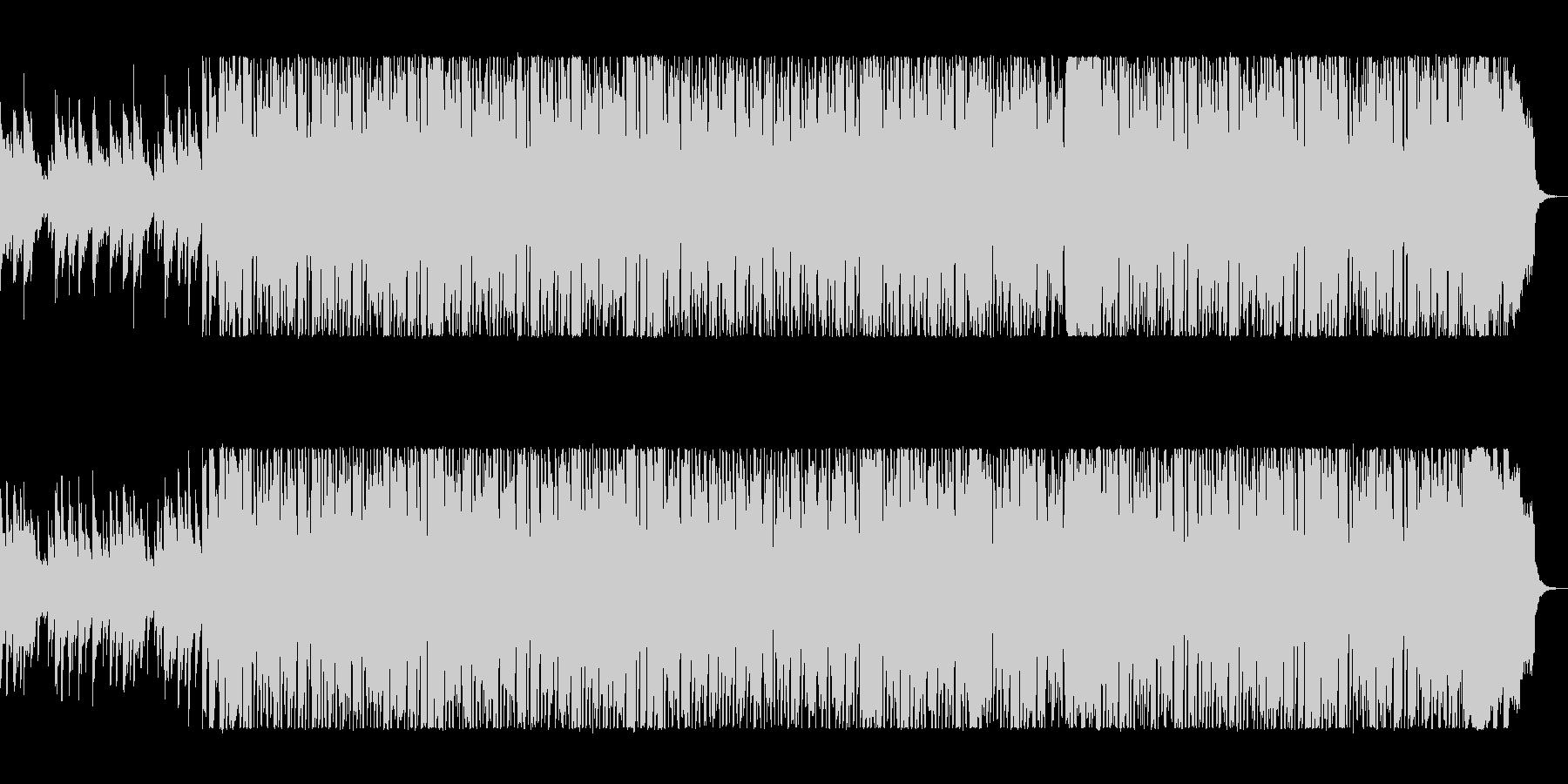 90年代Jポップ風の踊れるポップスの未再生の波形