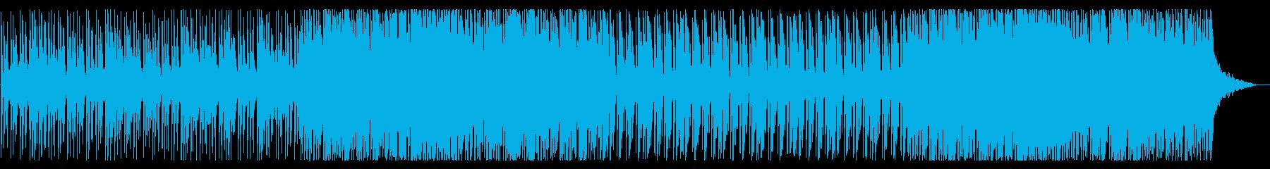メロディック・プログレッシブ・ハウス01の再生済みの波形