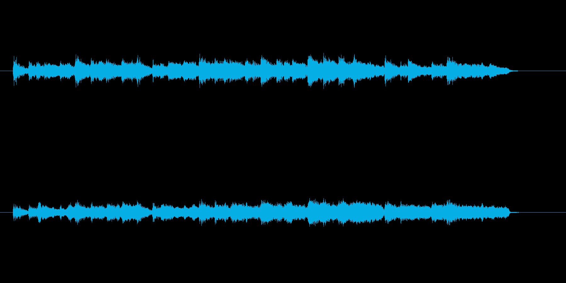 スロー・バラード(セミ・クラ風)の再生済みの波形