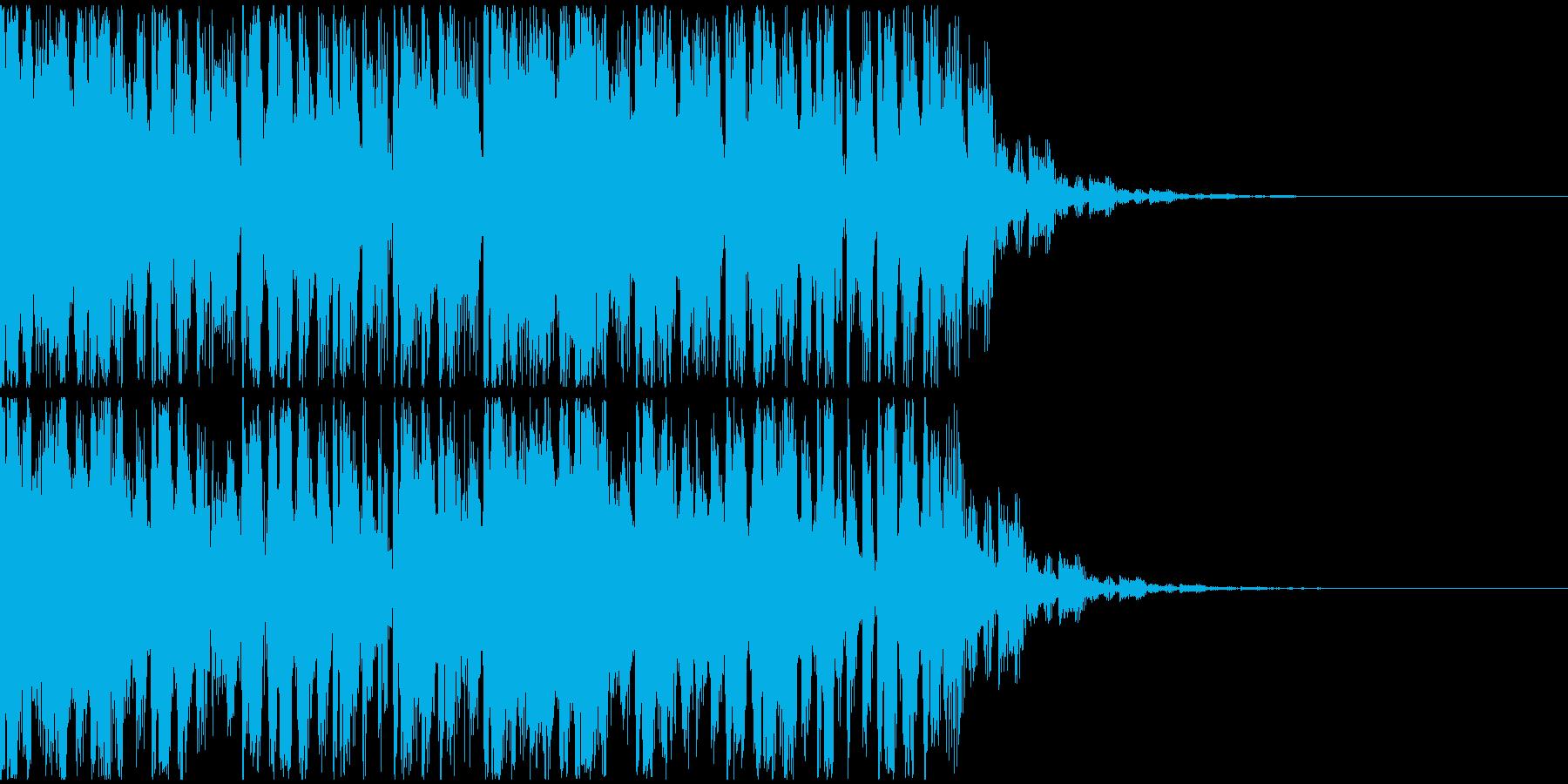 【EDM】トランス、ロング7、ショート3の再生済みの波形