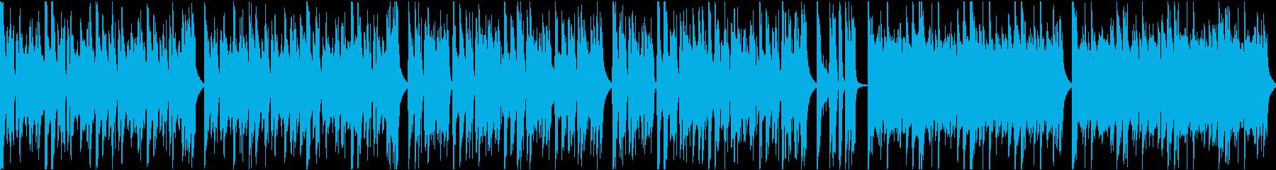 おしゃれイケイケ/カラオケ/ループの再生済みの波形