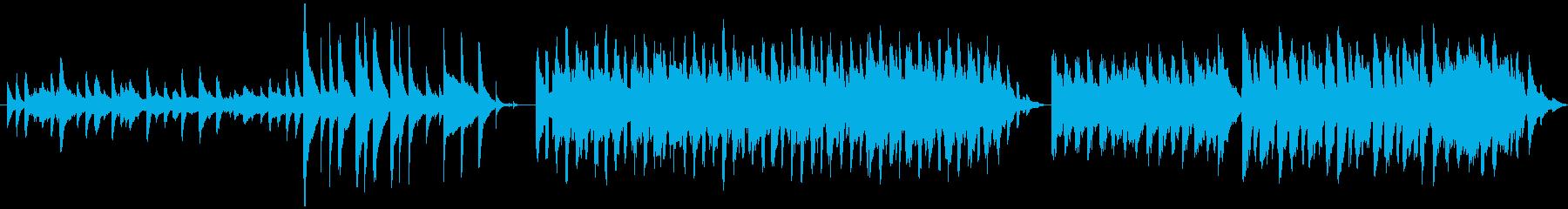 福袋「NATURE」の再生済みの波形