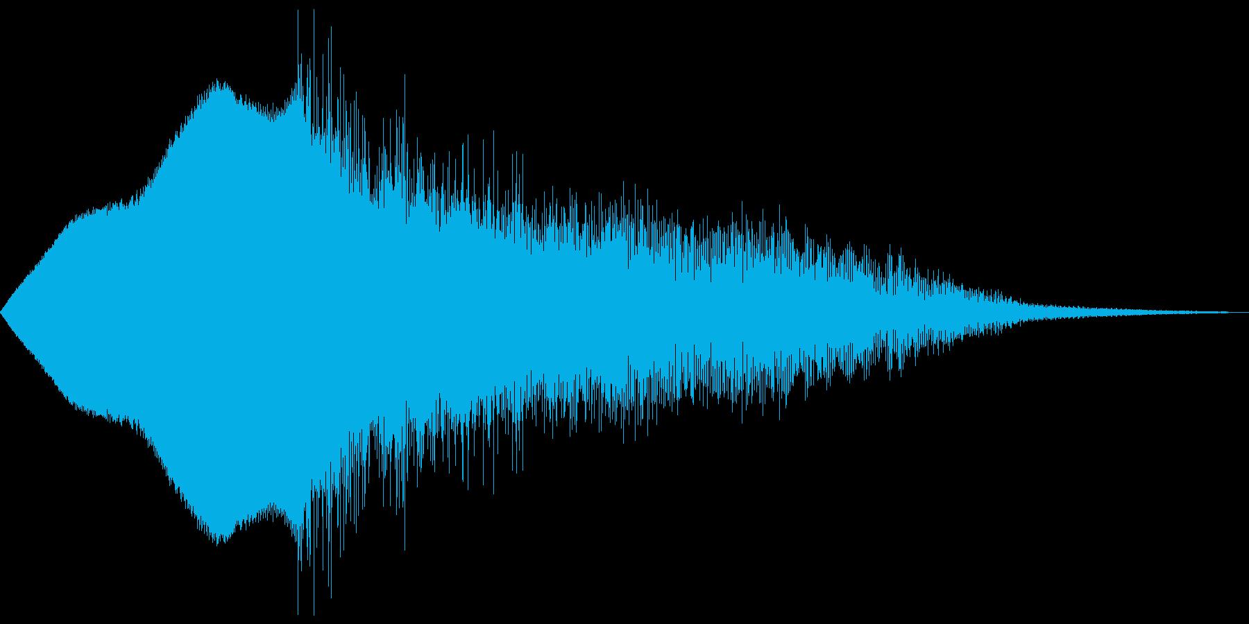 ウィィィンピシャーンの再生済みの波形