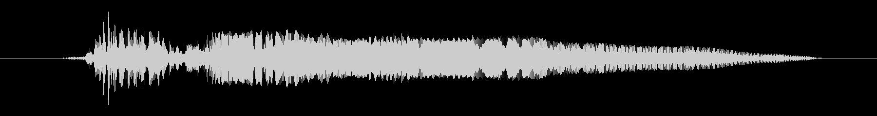 ドワーフ 応援ジュフ03の未再生の波形