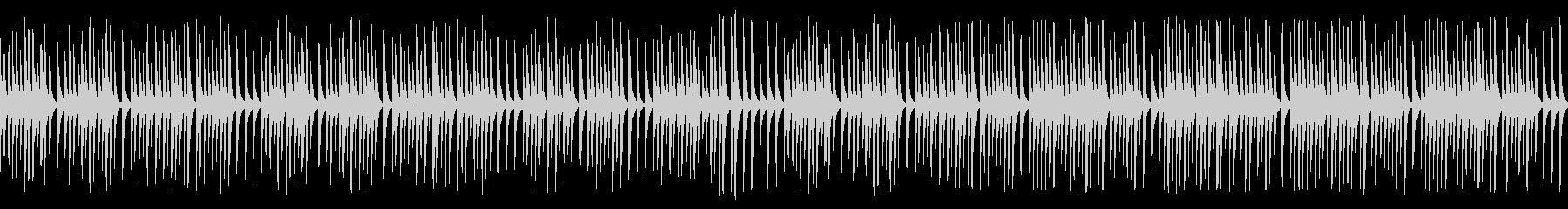 可愛い動物や作業動画に合う木琴(ループの未再生の波形
