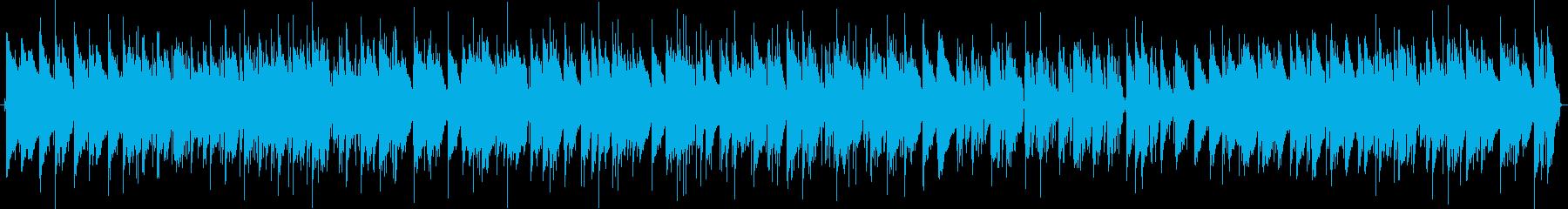 コーヒーが飲みたくなる(?)ピアノトリオの再生済みの波形