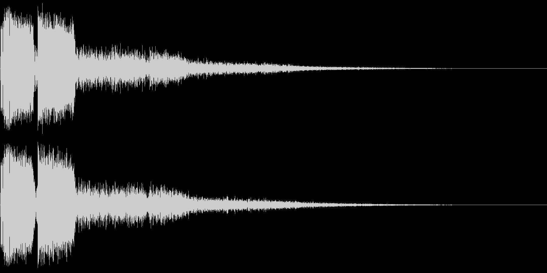 ピコン ピコ チャリン ピコーン 2の未再生の波形