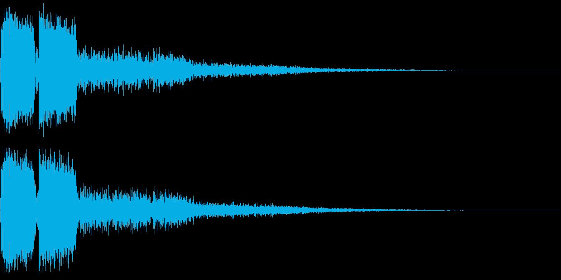 ピコン ピコ チャリン ピコーン 2の再生済みの波形