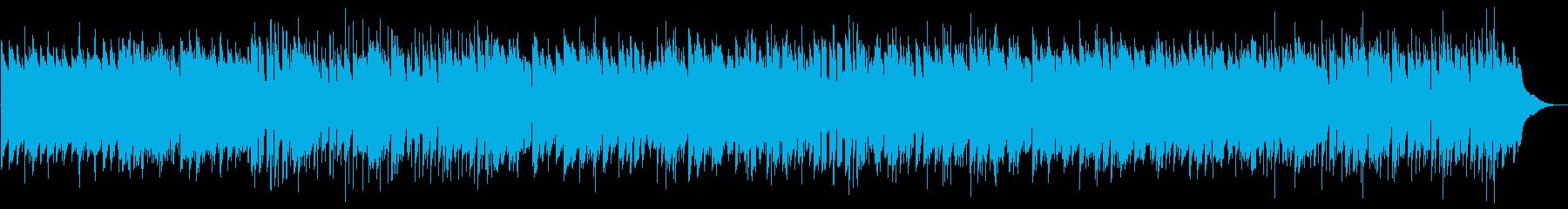 ほのぼのとのんびり、カントリーポップの再生済みの波形