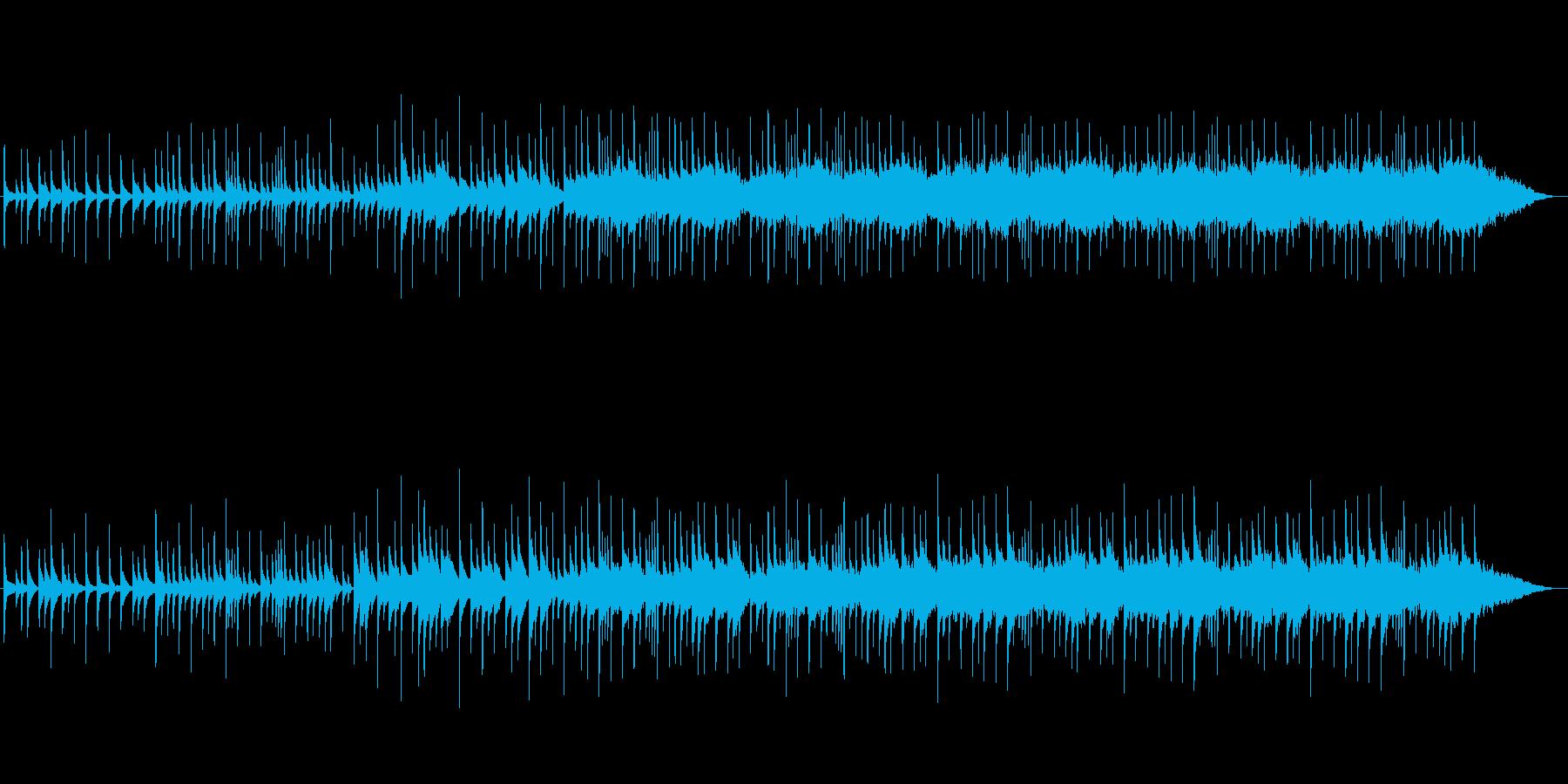 【めばえ】春 あたたかさのあるピアノ曲の再生済みの波形