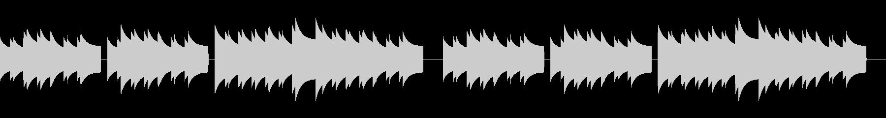 歩行者用信号機の音_故郷の空_02の未再生の波形