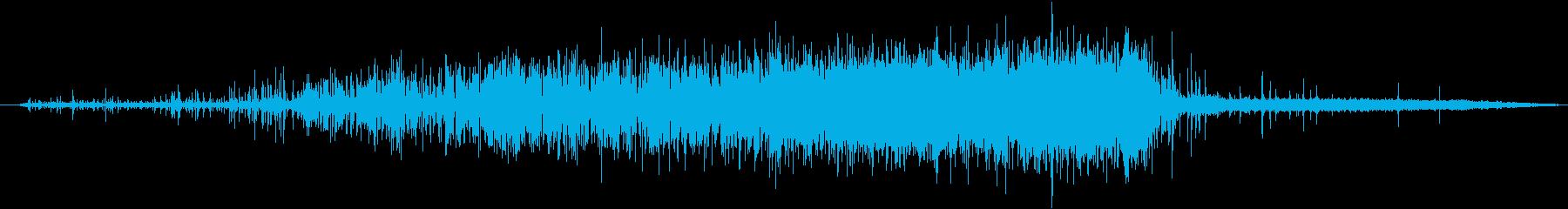 レストランエスプレッソマシン:スロ...の再生済みの波形