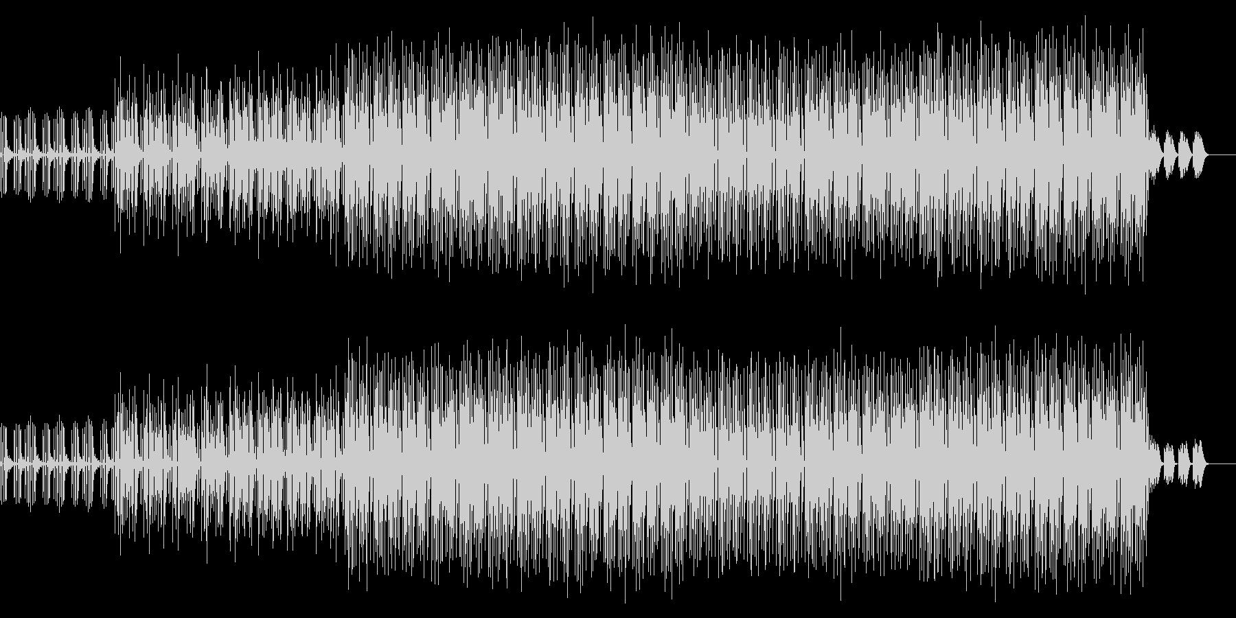 かわいい、ゆるい、コミカル-02の未再生の波形
