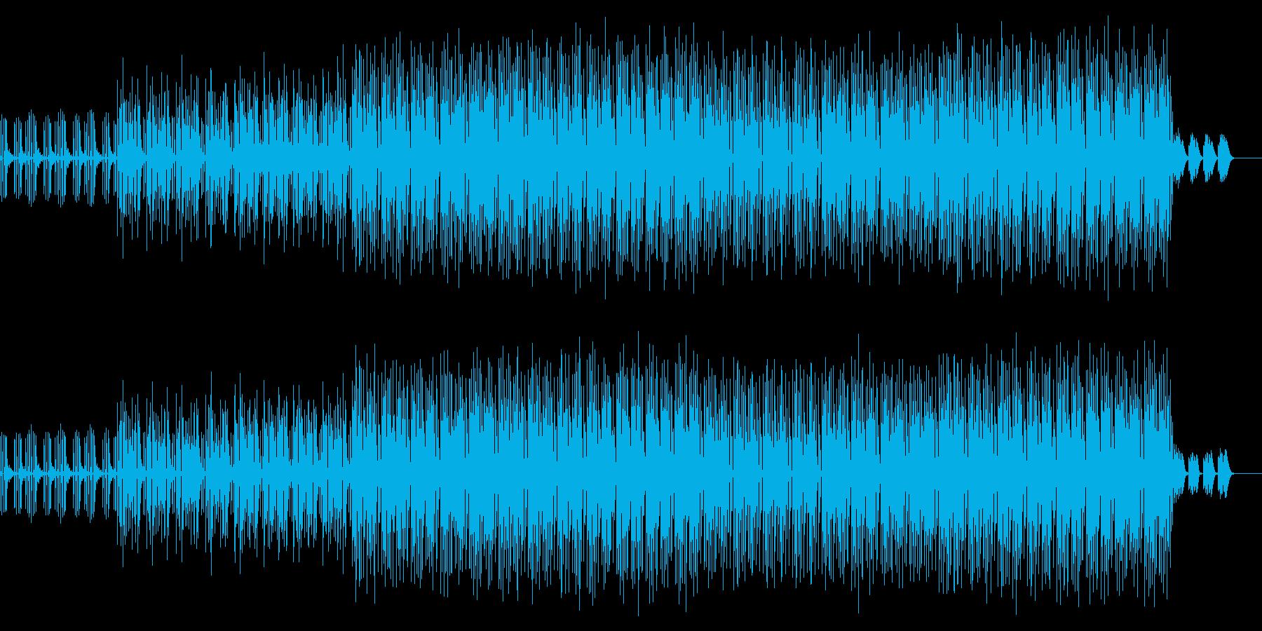 かわいい、ゆるい、コミカル-02の再生済みの波形
