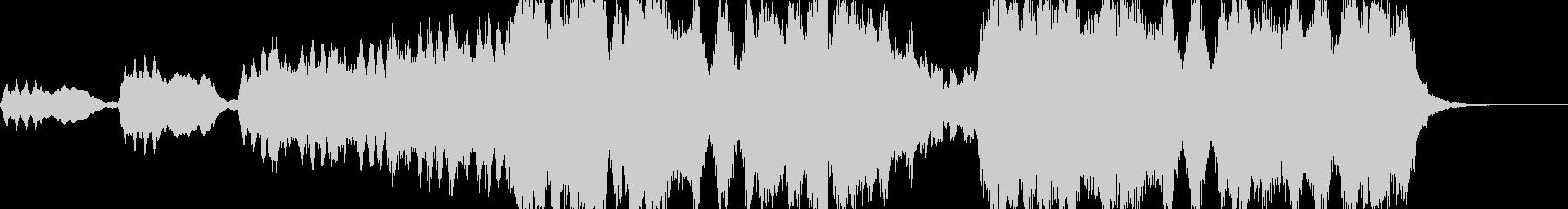 クラシック 角 クラシカルの未再生の波形