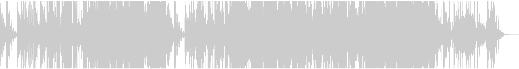 TRAP R&B クールなサウンドの未再生の波形