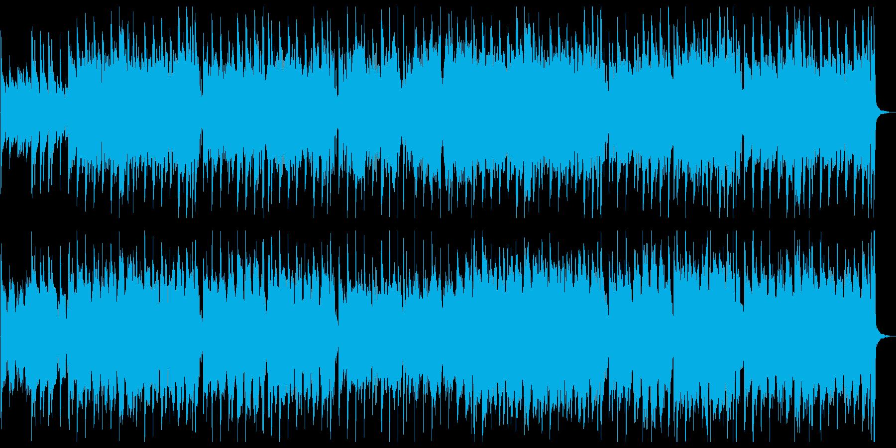 大正ロマンをイメージした和風楽曲の再生済みの波形