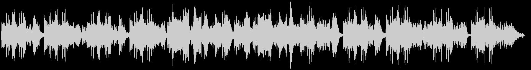 Flute Pf シンプル 田舎感の未再生の波形