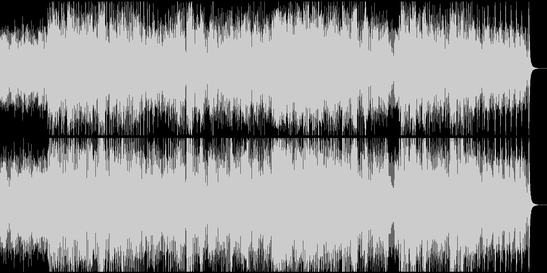 チェンバロの未再生の波形