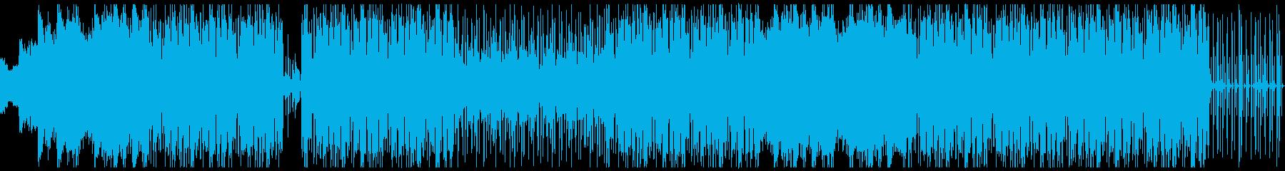 優しいローファイHIPHOPの再生済みの波形