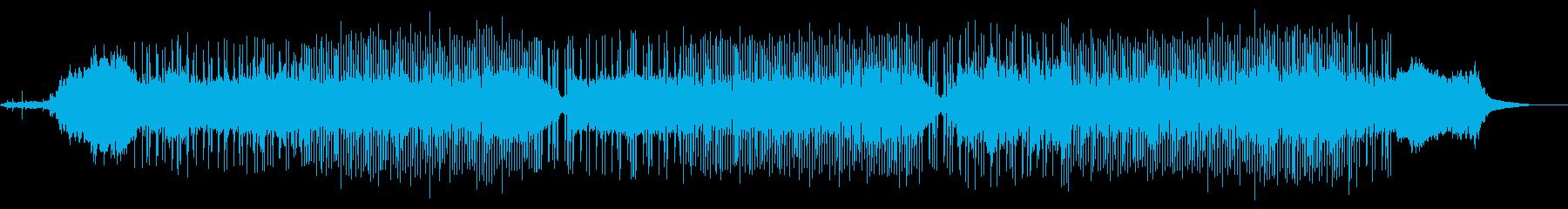 ブルージーなハーモニカと「モンスタ...の再生済みの波形