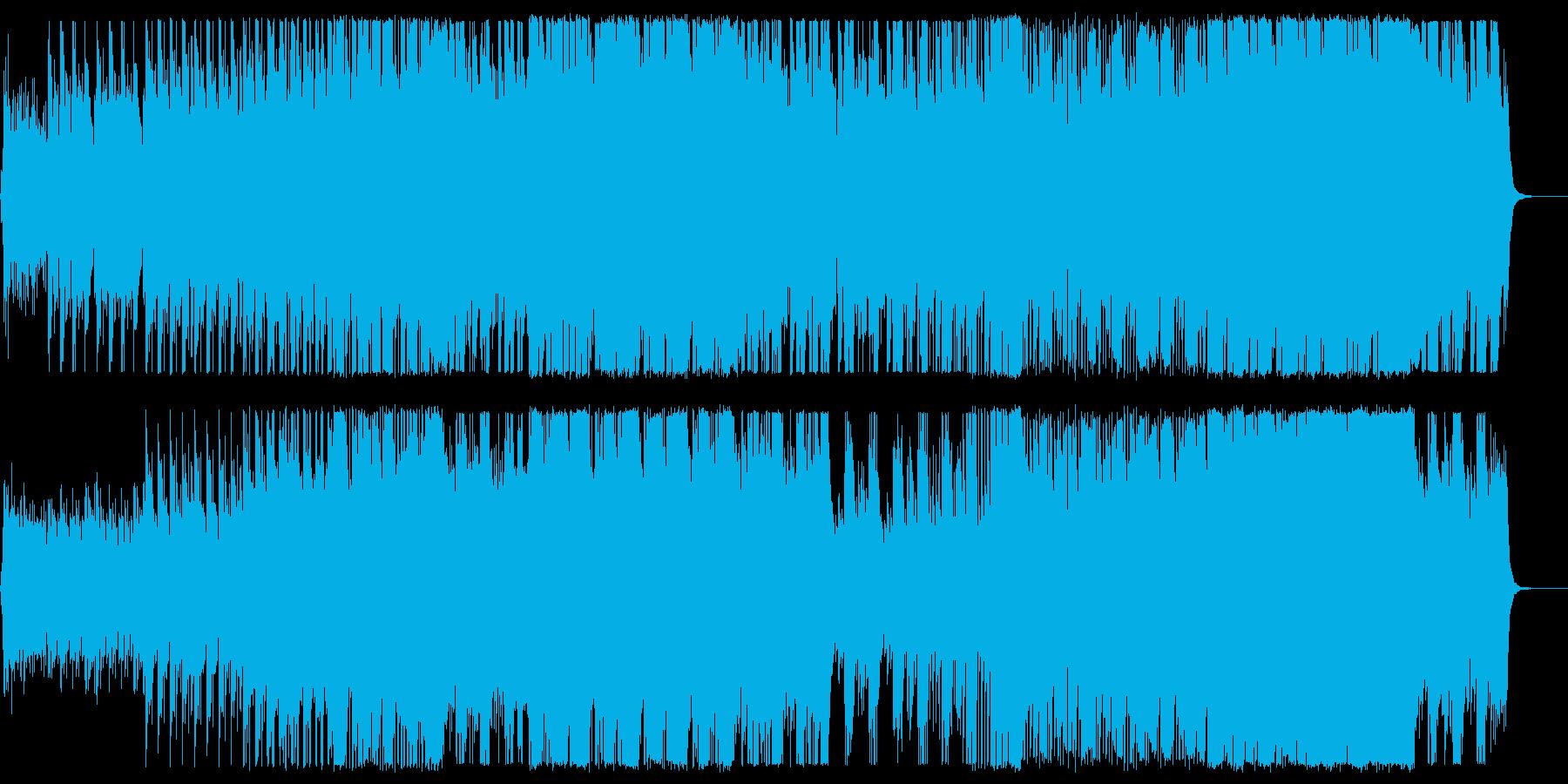 激しくも切ないダブステップの再生済みの波形