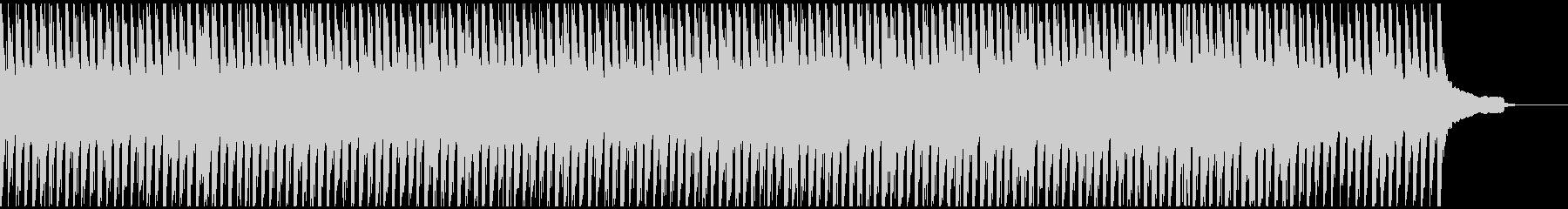 シックな雰囲気の曲の未再生の波形