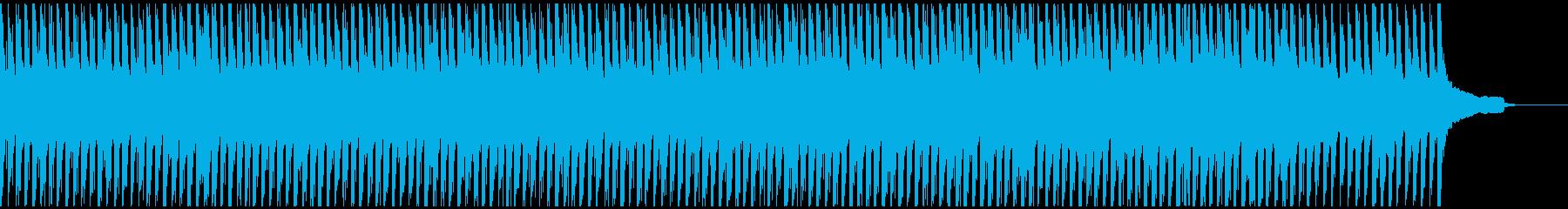シックな雰囲気の曲の再生済みの波形