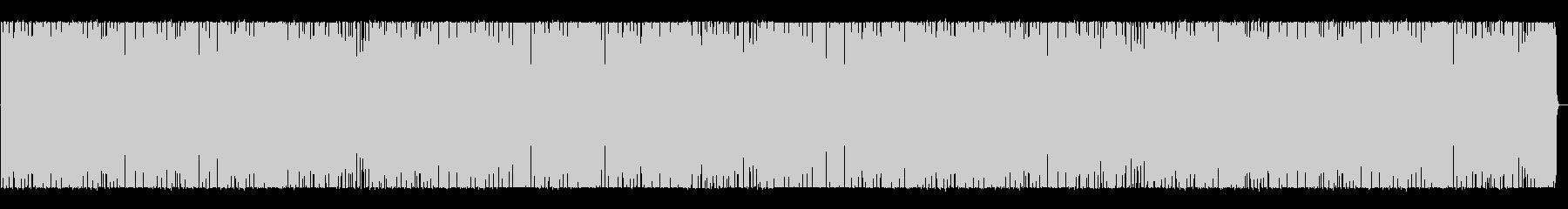 ずんずん進むアメリカンなドライブBGMの未再生の波形