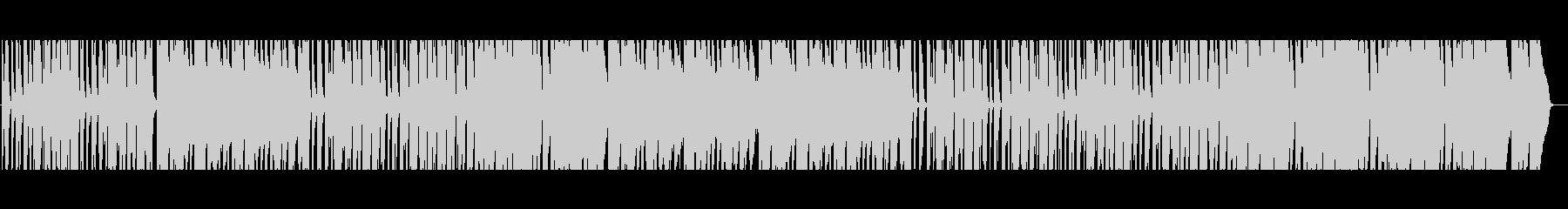 明るく可愛いポップス(ドラム無し)の未再生の波形