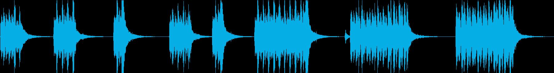 忙しいピチカートストリングシーケン...の再生済みの波形