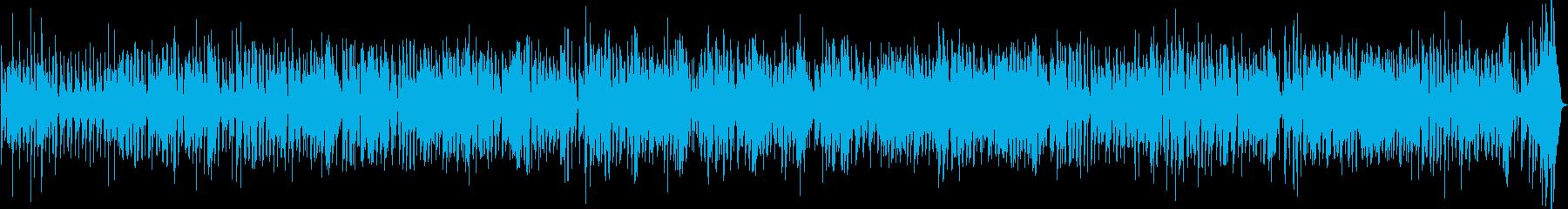 デキシーランドジャズの再生済みの波形