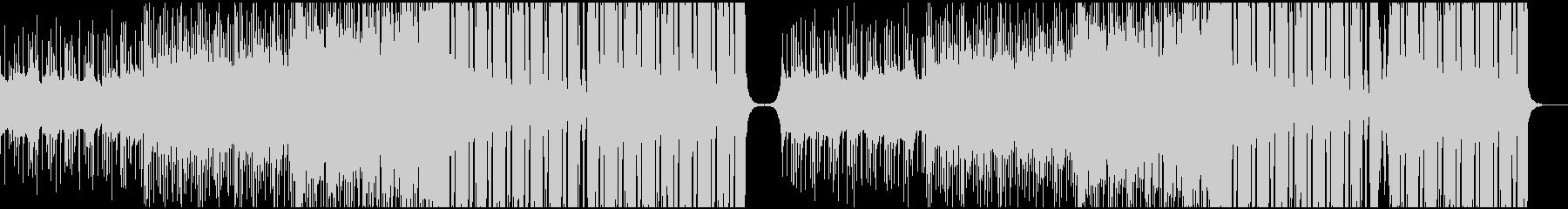 壮大で切ない系のEDMの未再生の波形