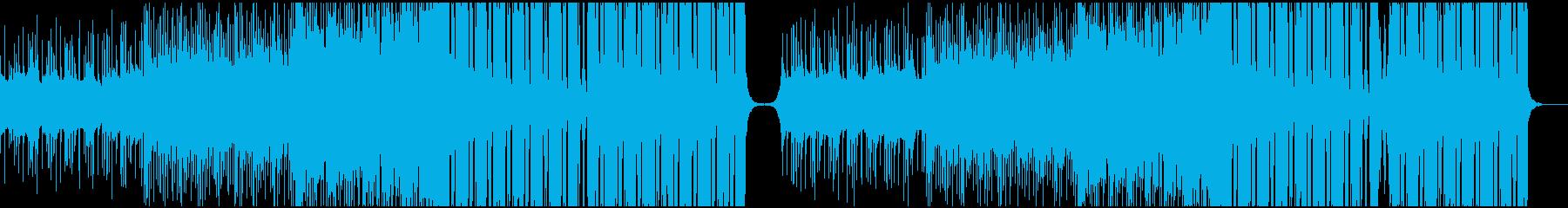 壮大で切ない系のEDMの再生済みの波形