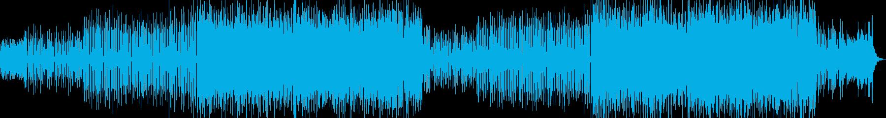 和風琴明るい幻想的透明感テクノの再生済みの波形